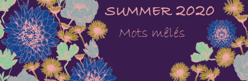 [Summer 2020] Les mots mêlés